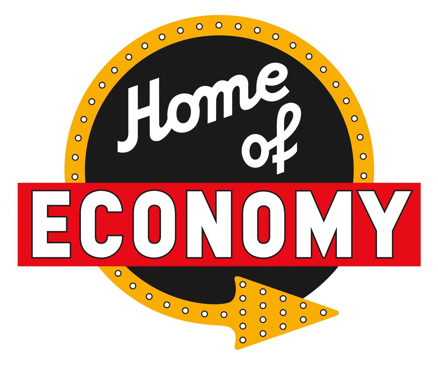 Home of Economy Logo Logo